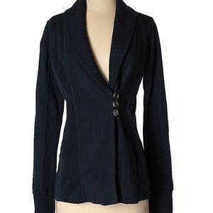 Lucky Brand Lotus Cardigan Shawl Collar Buttons